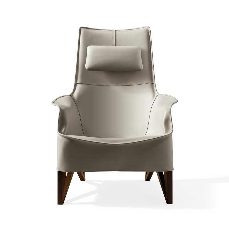 Mobius 2011 - Chairs and small armchairs - Giorgetti 2