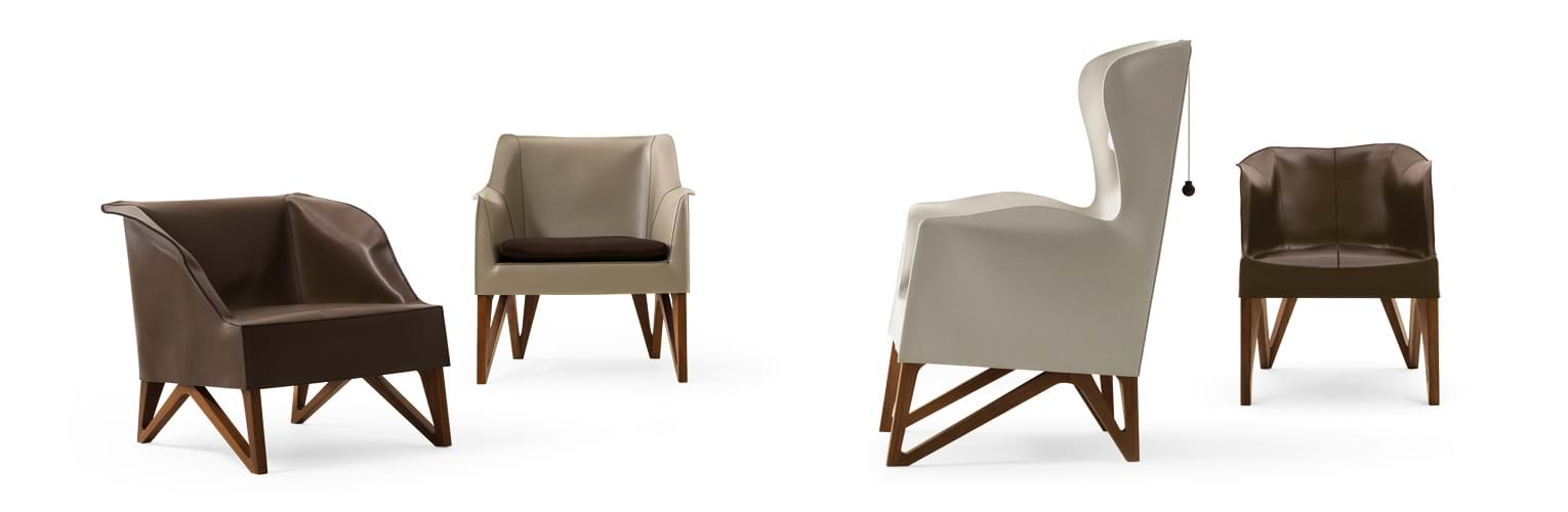 Mobius 2011 - Chairs and small armchairs - Giorgetti 5