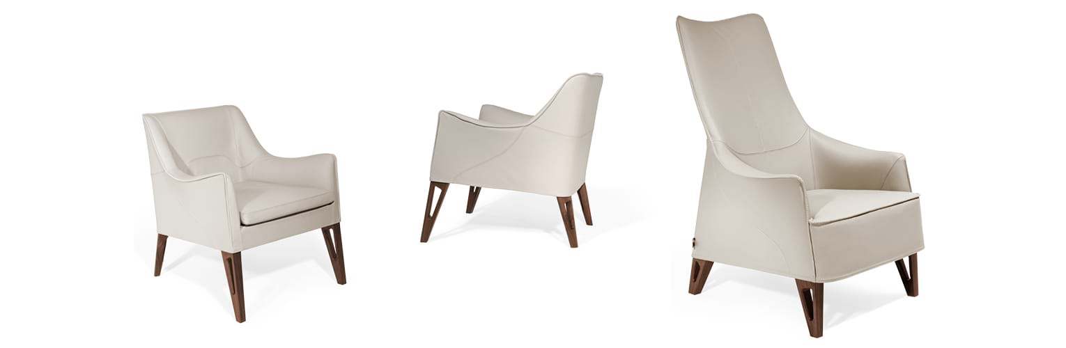 Mobius 2016 - Chairs and small armchairs - Giorgetti 5