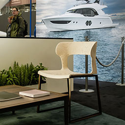 GIORGETTI AT THE BOAT SHOW IN DÜSSELDORF WITH MONTE CARLO YACHTS