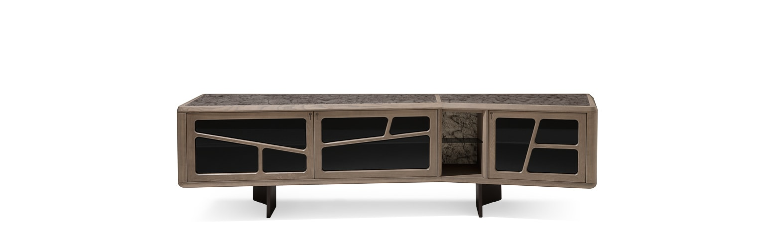 Disegual [cabinet] - Sideboards and chests of drawers - Giorgetti 3