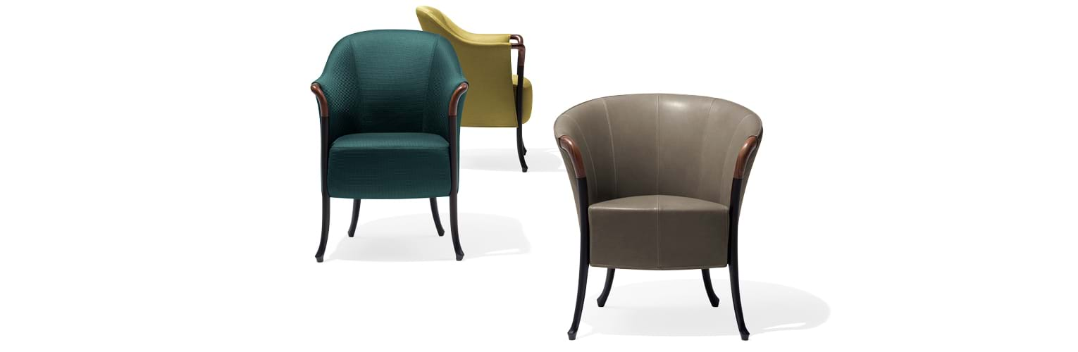 Progetti Sense - Chairs and small armchairs - Giorgetti 4
