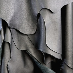 Materials research - fabric and leather